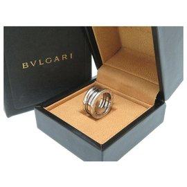 Bulgari-BVLGARI B-ZERO ring # 49-Silvery