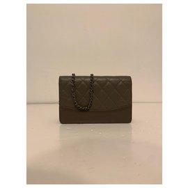 Chanel-Wallet on Chain Gabrielle Chanel-Beige