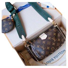 Louis Vuitton-Louis Vuitton Multi Pochette-Marron
