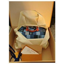 Louis Vuitton-Speedy denim new-Blue