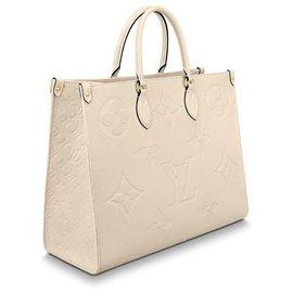 Louis Vuitton-Onthego Louis Vuitton-Cream
