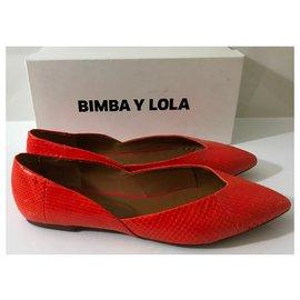 Bimba & Lola-Ballerines-Orange