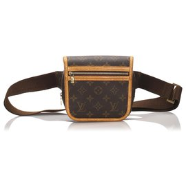 Louis Vuitton-Louis Vuitton Brown Monogram Bosphore Belt Bag-Brown