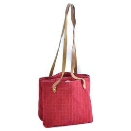 Hermès-Sac cabas Hermès Shopping-Rouge