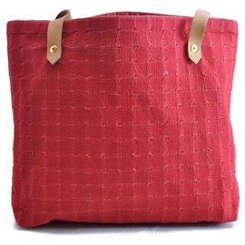 Hermès-Hermès Shopping Tote bag-Red
