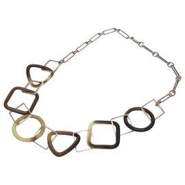 Hermès-Hermès Buffalo horn Necklace-Other