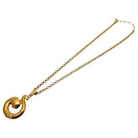Yves Saint Laurent-Yves Saint Laurent Vintage Necklace-Golden