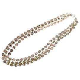 Hermès-Hermès vintage necklace-Silvery