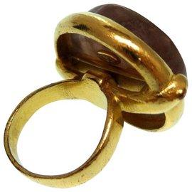 Chanel-Chanel vintage ring-Golden
