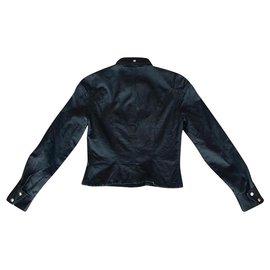 Thierry Mugler-Bouton  ou veste Mugler-Noir