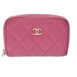 Chanel-Portefeuille Chanel-Rose