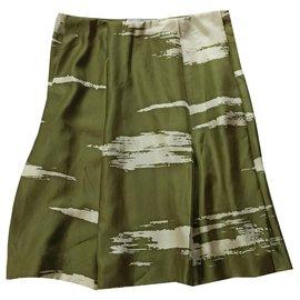 Yves Saint Laurent-Skirts-Beige,Khaki