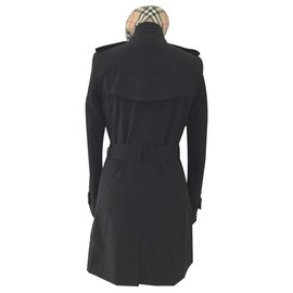 Burberry-Trench coats-Black