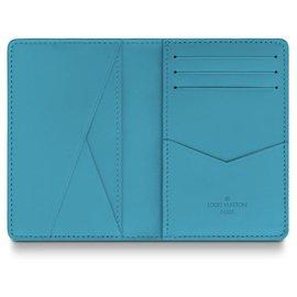 Louis Vuitton-Pocket Organiser LV-Turquoise