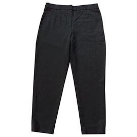 Balenciaga-Pants, leggings-Black