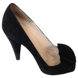 Prada-Heels-Black