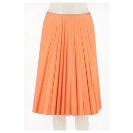 Paule Ka-Skirt suit-Orange