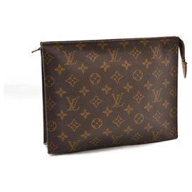 Louis Vuitton-Louis Vuitton cosmetic pouch-Brown