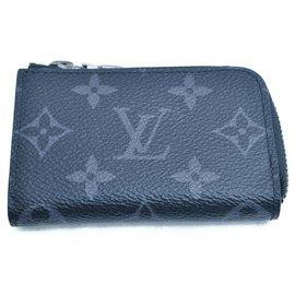 Louis Vuitton-Louis Vuitton Zippy Coin Purse-Grey