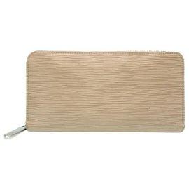 Louis Vuitton-Louis Vuitton Epi Zippy Wallet-Beige