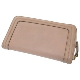 Chloé-Chloé Zip Around wallet-Pink