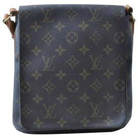 Louis Vuitton-Louis Vuitton Musette Salsa PM-Brown