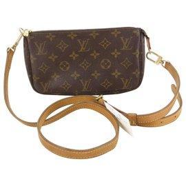 Louis Vuitton-Louis Vuitton Pochette bandoulière-Brown
