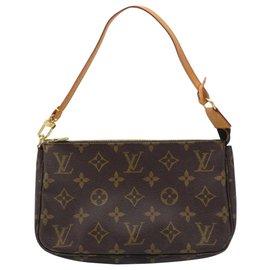 Louis Vuitton-Louis Vuitton Pochette Accessoire-Brown