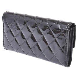 Chanel-Sac à main Chanel en cuir-Noir