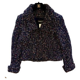 Chanel-Veste Chanel-Multicolore