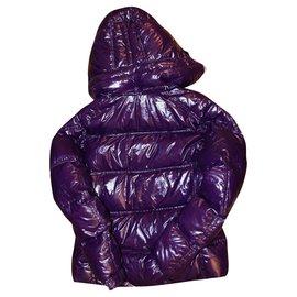 Moncler-Manteaux, Vêtements d'extérieur-Violet