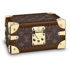 Louis Vuitton-Coffret Tesor Louis Vuitton-Brown