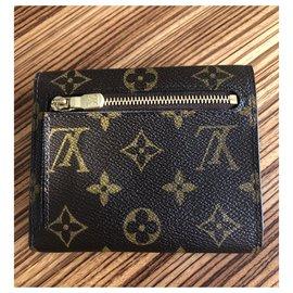 Louis Vuitton-Wallets-Brown