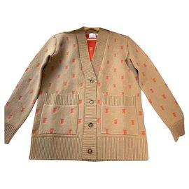 Burberry-Burberry knit cardigan-Beige