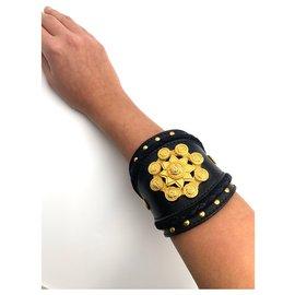 Versace-Bracelets-Noir