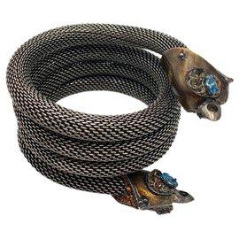 Lanvin-Bracelets-Métallisé