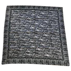 Chanel-Chanel shawl-Black