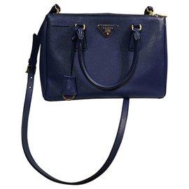 Prada-Handbags-Blue