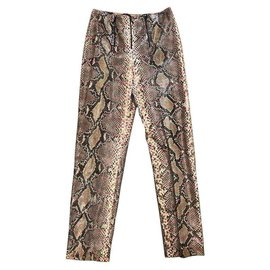 Chanel-Un pantalon, leggings-Multicolore