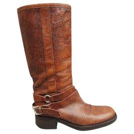 Free Lance-Free Lance p boots 39-Light brown