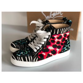 Christian Louboutin-sneakers-Multicolore