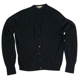 John Smedley-Sweaters-Black
