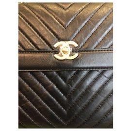Chanel-Sacs à dos-Noir
