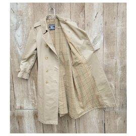 Burberry-vintage Burberry women's trench coat 36/38-Khaki