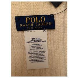 Polo Ralph Lauren-Scarves-Eggshell