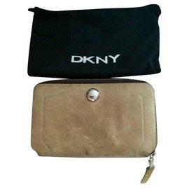 Dkny-DKNY wallet-Beige
