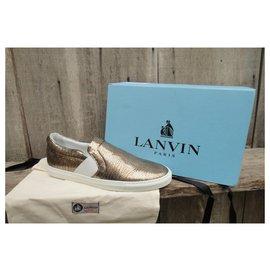 Lanvin-sleepers Lanvin p 39 état neuf-Doré
