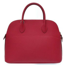 Hermès-Hermes Bolide 35-Rouge