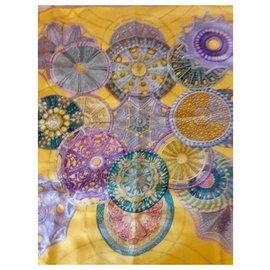 Hermès-Carré Hermès The celestial domes-Multiple colors