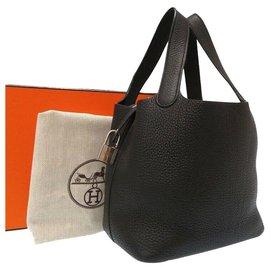 Hermès-Hermès Picotin Lock PM-Noir